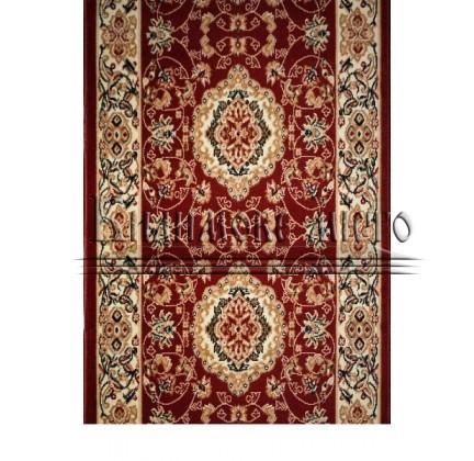 Синтетическая ковровая дорожка Almira 2304 Red-Cream Рулон - высокое качество по лучшей цене в Украине.