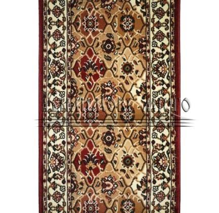 Синтетическая ковровая дорожка Almira 2348 Red-Cream Рулон - высокое качество по лучшей цене в Украине.