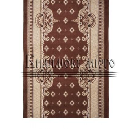 Синтетическая ковровая дорожка Almira 2356 Choko-Hardal Рулон - высокое качество по лучшей цене в Украине.