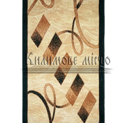 Синтетическая ковровая дорожка Almira 2327 Cream-Green Рулон - высокое качество по лучшей цене в Украине.
