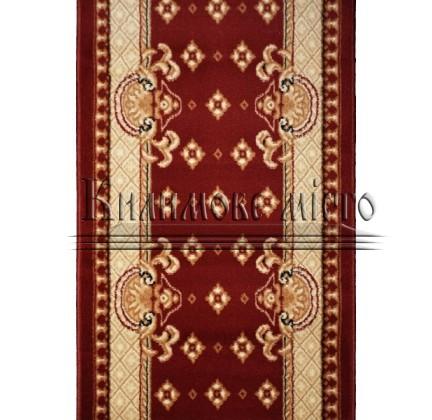 Синтетическая ковровая дорожка Almira 2356 Red-Cream Рулон - высокое качество по лучшей цене в Украине.