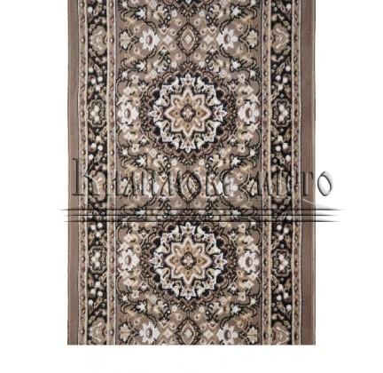Синтетическая ковровая дорожка Almira 2823 Hardal-Siyah Рулон - высокое качество по лучшей цене в Украине.
