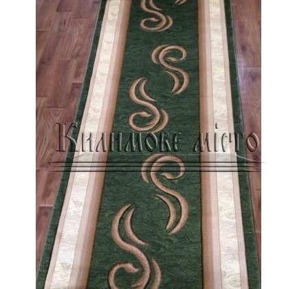 Синтетическая ковровая дорожка Virizka 135 green - высокое качество по лучшей цене в Украине.