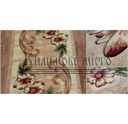 Синтетическая ковровая дорожка Virizka 131 beige - высокое качество по лучшей цене в Украине.