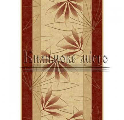 Синтетическая ковровая дорожка Selena / Lotos 552-120 red - высокое качество по лучшей цене в Украине.