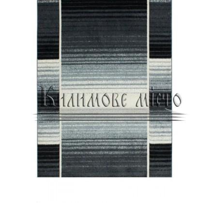 Синтетическая ковровая дорожка Sierra 6231A anthracite-cream - высокое качество по лучшей цене в Украине.