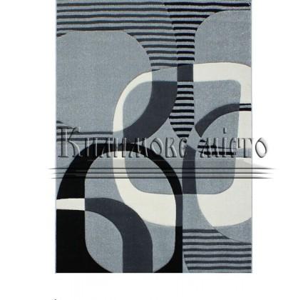 Синтетическая ковровая дорожка Sierra 7507A silver-antracite - высокое качество по лучшей цене в Украине.
