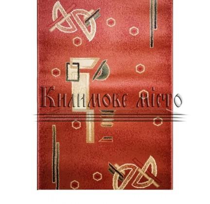 Синтетическая ковровая дорожка Super Elmas 1267A rose-rose - высокое качество по лучшей цене в Украине.