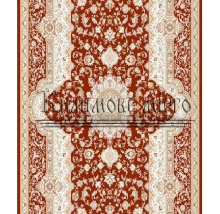 Высокоплотная ковровая дорожка Mashad 398 , RED - высокое качество по лучшей цене в Украине.