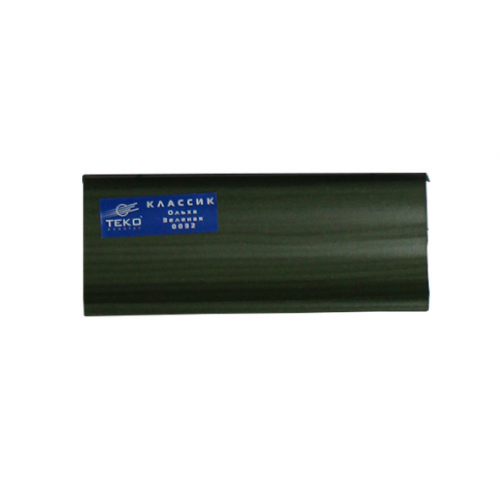 Плинтус напольный Классик Ольха зеленая 2,5м - изображение 1