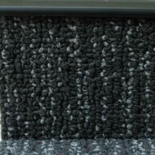 Плинтус для ковролина Dollken TL 51-110, черный 2.5 м - изображение 1