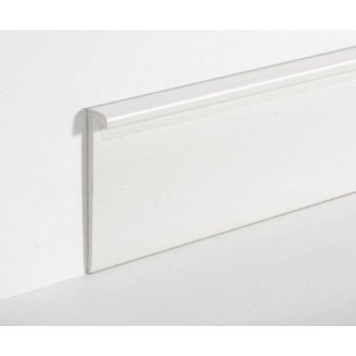 Плинтус Dollken EL 3,5 белый, 4м - изображение 1