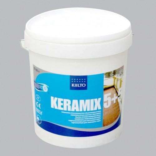 2-х компонентная гидроизоляционная мастика Kiilto Keramix 5+5 - изображение 1