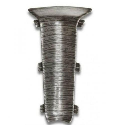 Угол к плинтусу внутренний Classic темно-серый - изображение 1