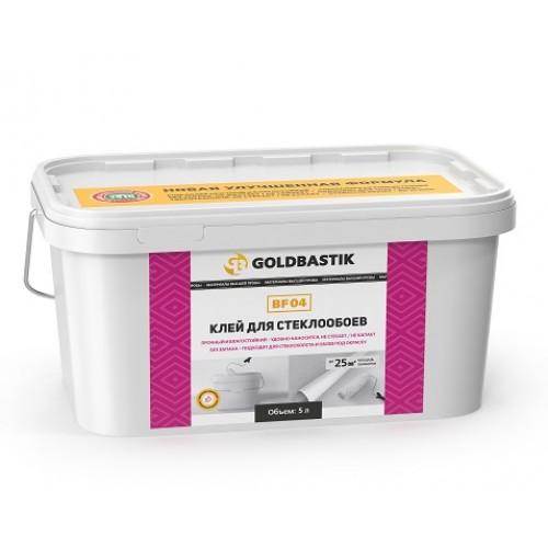 Клей для стеклообоев «GOLDBASTIK BF 04» 5кг. - изображение 1