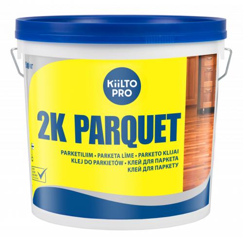 """Двухкомпонентный полиуретановый клей  Kiilto """"2 K PARQUET"""" 5.55 кг - изображение 1"""