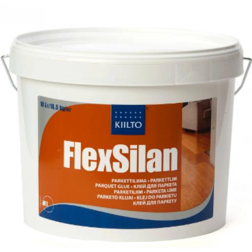 """Клей для эластичного прикрепления Kiilto """"FLEX SILAN""""  16.5 кг - изображение 1"""