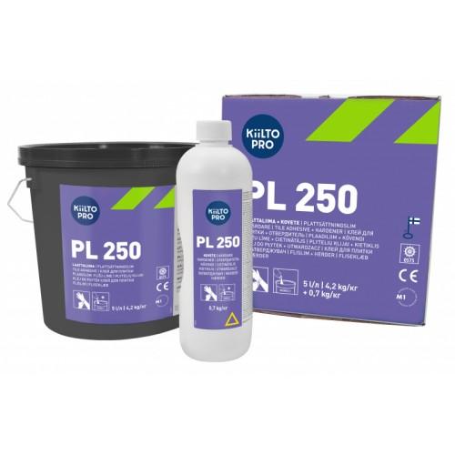 Универсальный клей для плитки Kiilto PL 250 5 л/4,2 кг + 0,75 л/0,7 кг - изображение 1