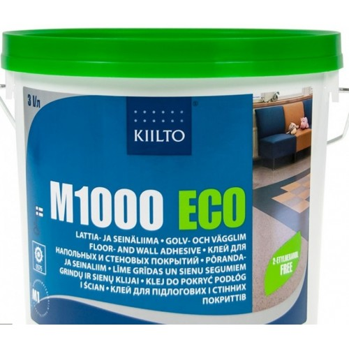 Клей для стен и пола Kiilto M1000 ECO 3.3 кг - изображение 1