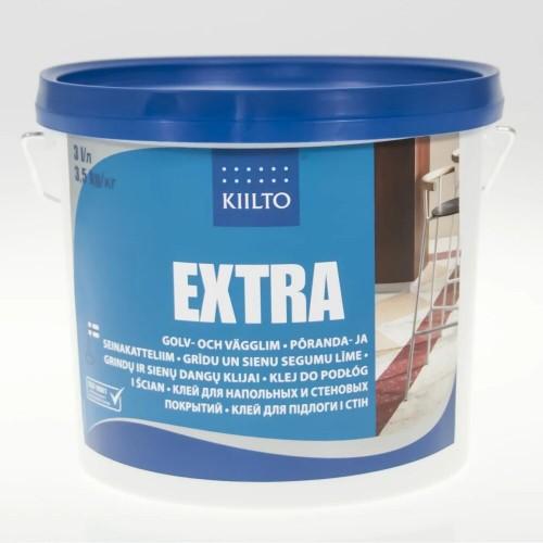 Клей для пола ПВХ и стен Kiilto Extra 3 кг - изображение 1