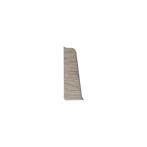Заглушка к плинтусу левая Стандарт Каштан Жирона - изображение 1