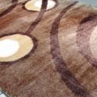 Високоворсний килим 3D Polyester 0052 L.BROWN-L.BROWN - Висока якість за найкращою ціною в Україні зображення 2.