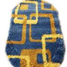 Высоковорсный ковер First Shaggy 12 282 , BLUE - высокое качество по лучшей цене в Украине изображение 2.
