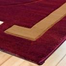 Синтетический ковер Liliya 0537 т.красный - высокое качество по лучшей цене в Украине изображение 2.
