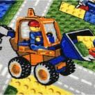 Детский ковролин Принт Конструктор 13/95 - высокое качество по лучшей цене в Украине изображение 2.