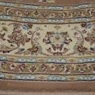 Высокоплотная ковровая дорожка Esfehan 4878A brown-ivory - высокое качество по лучшей цене в Украине изображение 3.