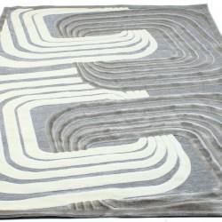 Акриловый ковер Hadise 2677A grey  - высокое качество по лучшей цене в Украине