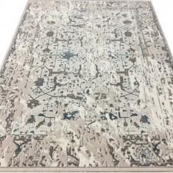 Акриловый ковер Sahra 0167A White-Blue  - высокое качество по лучшей цене в Украине