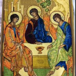 Ковер Икона 2016 Святая Троица  - высокое качество по лучшей цене в Украине