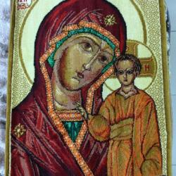 Ковер Икона 974 Божья Матерь  - высокое качество по лучшей цене в Украине
