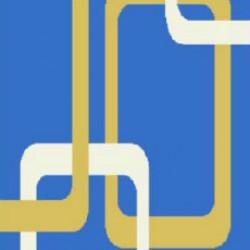 Высоковорсный ковер First Shaggy 12 282 , BLUE  - высокое качество по лучшей цене в Украине