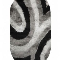 Высоковорсный ковер Flamento 5 127 , BLACK WHITE  - высокое качество по лучшей цене в Украине
