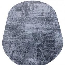 Высоковорсный ковер LOTUS 0944 GREY-BLACK  - высокое качество по лучшей цене в Украине