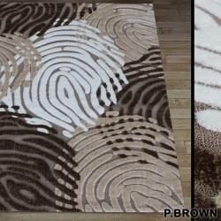 Высоковорсный ковер Luna 2454a p.brown-p.bone  - высокое качество по лучшей цене в Украине