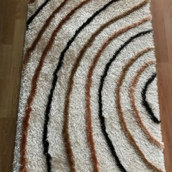 Високоворсний килим Malta Shaggy 7593E cream  - Висока якість за найкращою ціною в Україні