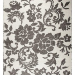 Высоковорсный ковер Missipy 9 384 , GREY WHITE  - высокое качество по лучшей цене в Украине