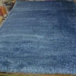 Высоковорсный ковер Polyester P904 BLUE  - высокое качество по лучшей цене в Украине