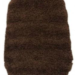 Высоковорсный ковер Silk S057 brown  - высокое качество по лучшей цене в Украине