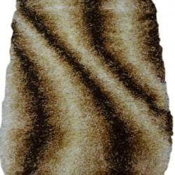 Высоковорсный ковер Silk S212-0 brown  - высокое качество по лучшей цене в Украине