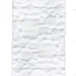 Высоковорсный ковер Softy 3D 2270A white  - высокое качество по лучшей цене в Украине