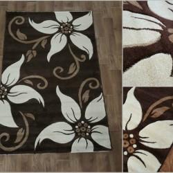 Синтетичний килим Melisa 331 BROWN  - Висока якість за найкращою ціною в Україні