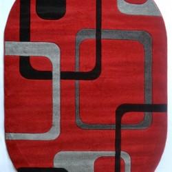 Синтетический ковер Melisa 0359 RED  - высокое качество по лучшей цене в Украине