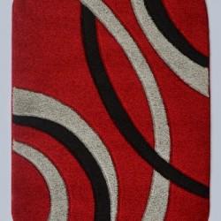 Синтетический ковер Melisa 355 red  - высокое качество по лучшей цене в Украине
