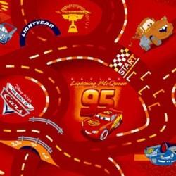 Детский ковролин Cars 10  - высокое качество по лучшей цене в Украине