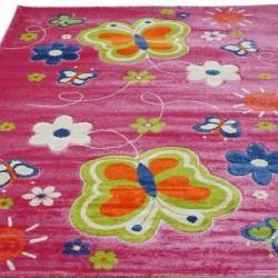 Детский ковер Daisy Fulya 8C66b pink  - высокое качество по лучшей цене в Украине