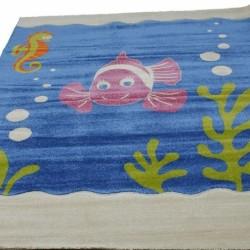 Детский ковер Daisy Fulya 8C95b blue  - высокое качество по лучшей цене в Украине